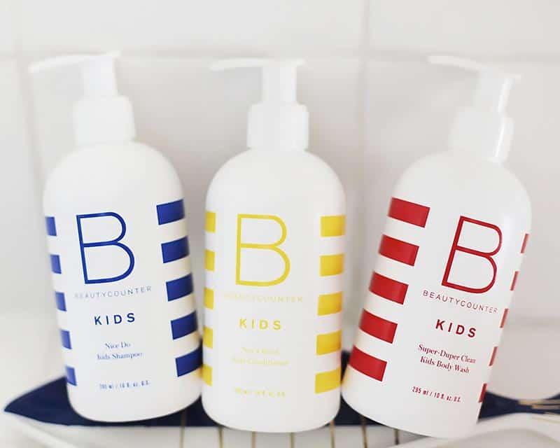 BeautyCounter Kids Shampoo, Conditioner, Body Wash