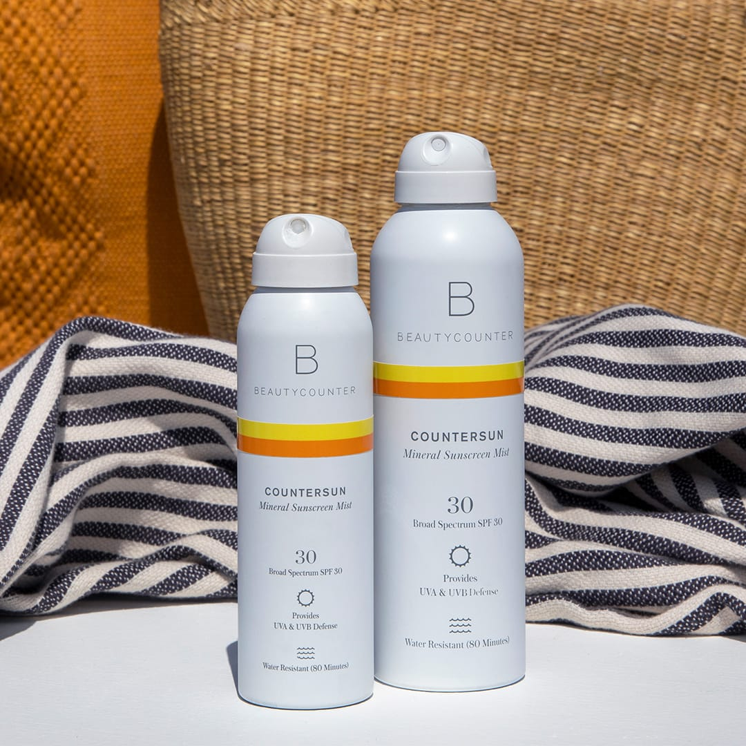 Ordering BeautyCounter Sunscreen Products