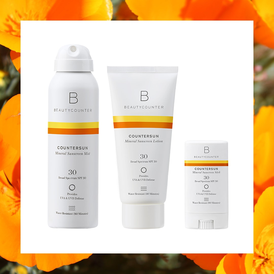 Mineral Based CounterSun Sunscreen Line